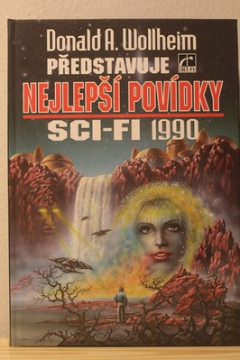 náhled knihy - Nejlepší povídky sci-fi 1990