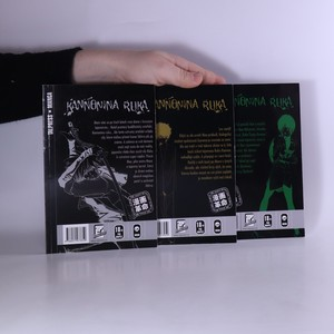 antikvární kniha Kannonina ruka. 1. -3. díl. (3 svazky, nekompletní), 2009 - 2010