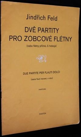 náhled knihy - Dvě partity : pro zobcové flétny (nebo flétny příčné či hoboje) : partitura