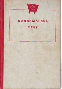 náhled knihy - Komsomolská čest