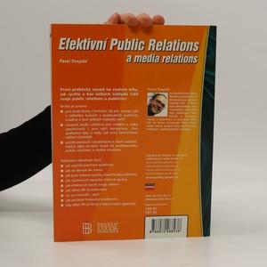 antikvární kniha Efektivní public relations a media relations, 2002