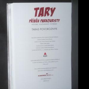 antikvární kniha Tary : příběh parkouristy : historie, současnost, tutoriály, 2018