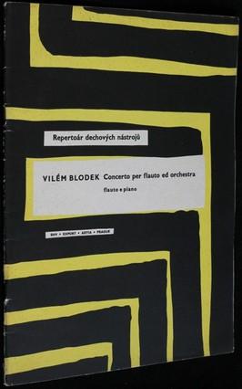 náhled knihy - Concerto per flauto ed orchestra : flauto e piano