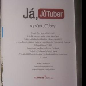 antikvární kniha Já, JůTuber. 1. - 3. díl (3 svazky), 2015-2016