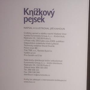 antikvární kniha Knížkový pejsek, 2012
