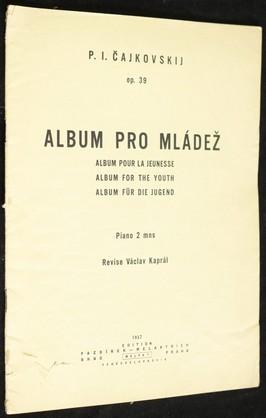 náhled knihy - Album pro mládež, piano 2 mns, op. 39