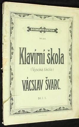 náhled knihy - Klavírní škola (Vysoká škola), díl 1.