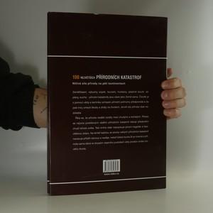 antikvární kniha 100 největších přírodních katastrof, 2007