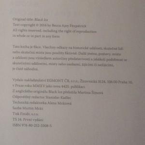 antikvární kniha Černý led, 2015