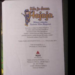 antikvární kniha Kde je doma Hajaja, 2011