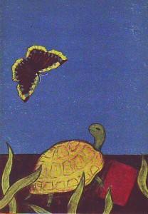náhled knihy - Putování želvy Tary