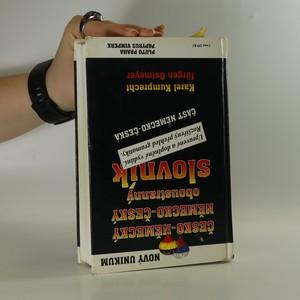 antikvární kniha Česko-německý a německo-český (oboustranný) slovník, neuveden
