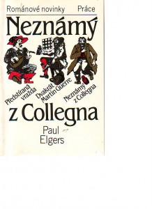 náhled knihy - Neznámý z Collegna