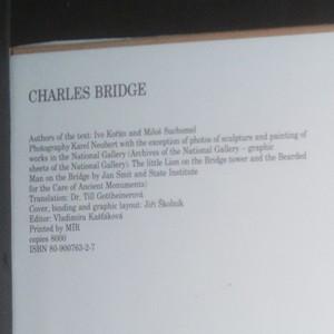 antikvární kniha Charles Bridge, 1991