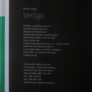antikvární kniha Vertigo, 2016