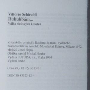 antikvární kniha Rukulíbám : válka sicilských kmotrů, 1994