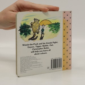antikvární kniha Winnie-the-Pooh colours, neuveden