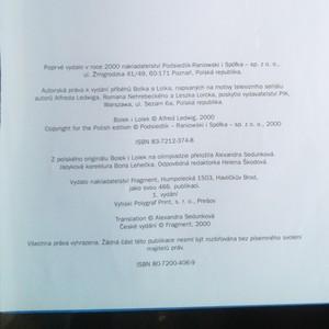 antikvární kniha Bolek a Lolek na olympiádě, 2000