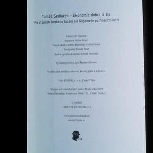 antikvární kniha Ekonomie dobra a zla, 2009