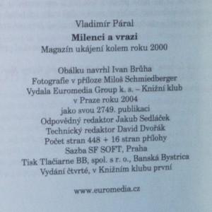 antikvární kniha Milenci a vrazi. Magazín ukájení kolem roku 2000, 2004