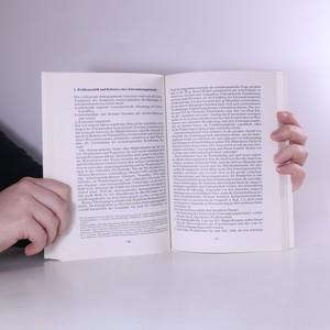 antikvární kniha Das Europäische Einwanderungskonzept, 1994