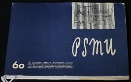 náhled knihy - PSMU : 60 let Pěveckého sdružení moravských učitelů
