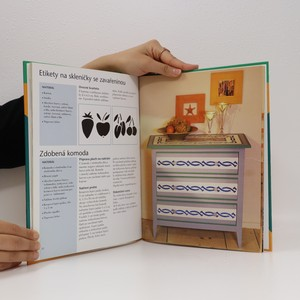 antikvární kniha Dekorační vzory. Zkrášlujeme pomocí šablon, 1999