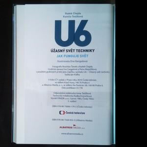 antikvární kniha U6. Úžasný svět techniky. Jak funguje svět, 2016