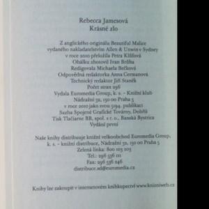 antikvární kniha Krásné zlo, 2010