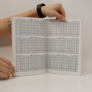 antikvární kniha Tabulky astrologických domů pro zeměpisné šířky od +45° do +54°, 1995
