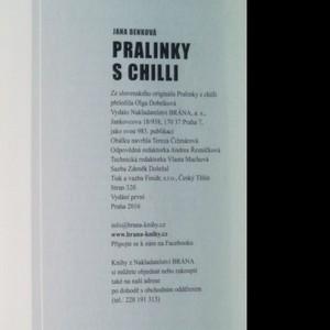 antikvární kniha Pralinky s chilli, 2016