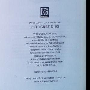 antikvární kniha Fotograf duší, 2018