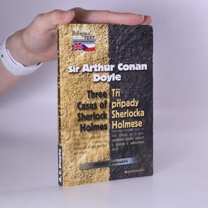 náhled knihy - Tři případy Sherlocka Holmese. Three cases of Sherlock Holmes