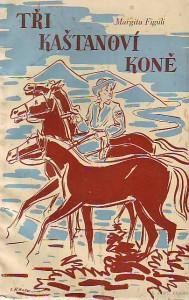 Tři kaštanoví koně