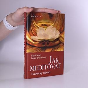 náhled knihy - Jak meditovat