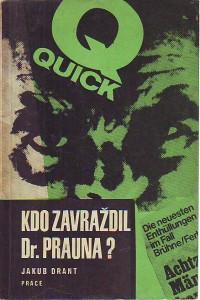 náhled knihy - Kdo zavraždil Dr. Prauna?