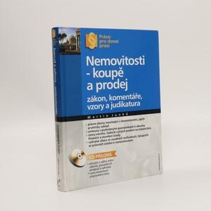 náhled knihy - Nemovitosti, byty - prodej a koupě (bez CD)