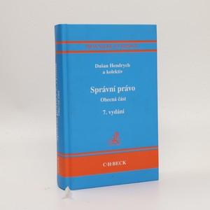 náhled knihy - Správní právo : obecná část