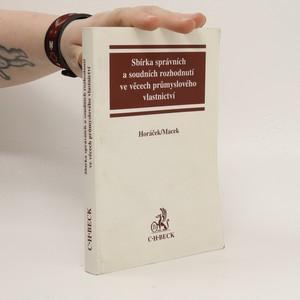 náhled knihy - Sbírka správních a soudních rozhodnutí ve věcech průmyslového vlastnictví