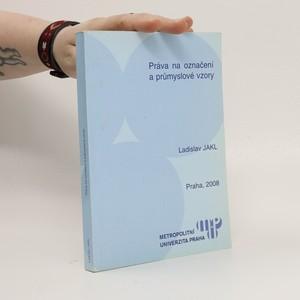 náhled knihy - Práva na označení a průmyslové vzory