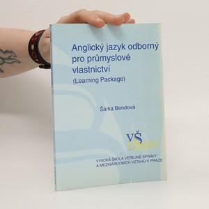 náhled knihy - Anglický jazyk odborný pro průmyslové vlastnictví: (learning package)