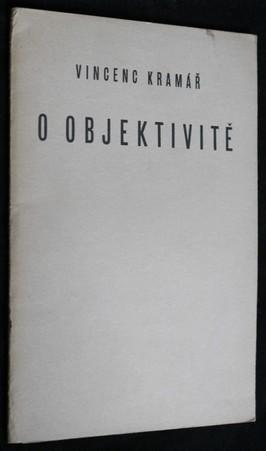 náhled knihy - O objektivitě : věnováno mladým historikům umění