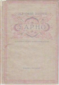 náhled knihy - Sapho. Mravy pařížské.