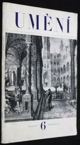 náhled knihy - Umění 6 ročník XXVII.
