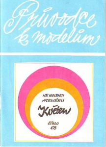 náhled knihy - Průvodce k modelům ke kolekci ateliéru Květen č. 68