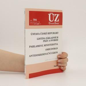 náhled knihy - Ústavní zákony Ústava České republiky