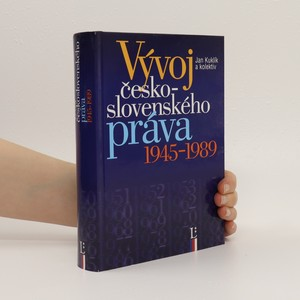 náhled knihy - Vývoj československého práva 1945-1989