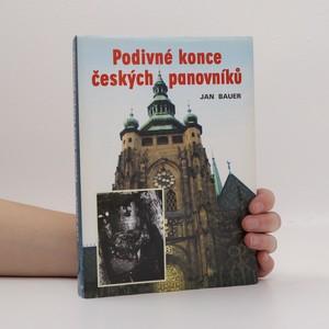 náhled knihy - Podivné konce českých panovníků