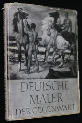 náhled knihy - Deutsche Maler der Gegenwart : die Entwicklung der deutschen Malerei seit 1900