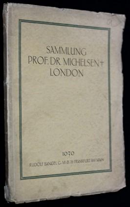 náhled knihy - Sammlung prof. dr. michelsen + London